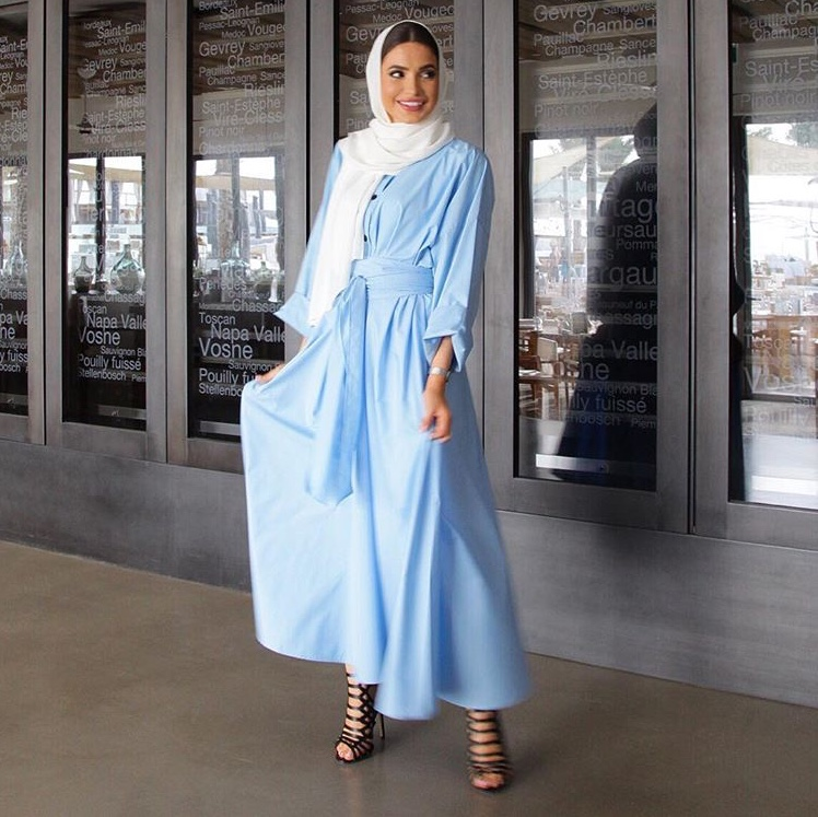 الفساتين الصيفية من فاطمة حسام