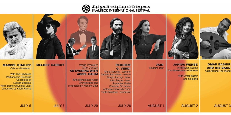 مهرجانات بعلبك الدولية