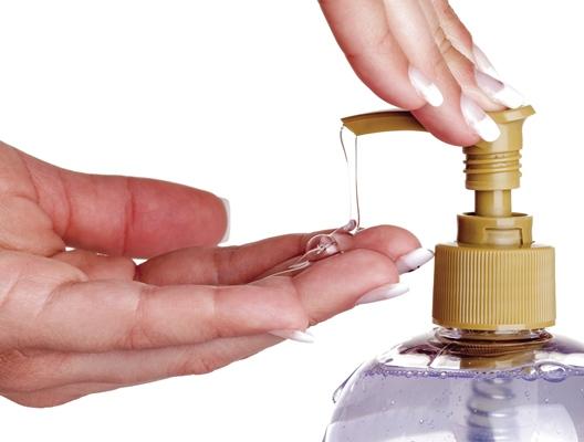 صابون اليدين السائل