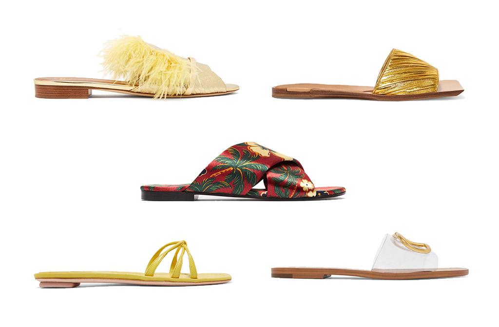 الأحذية المسطّحة