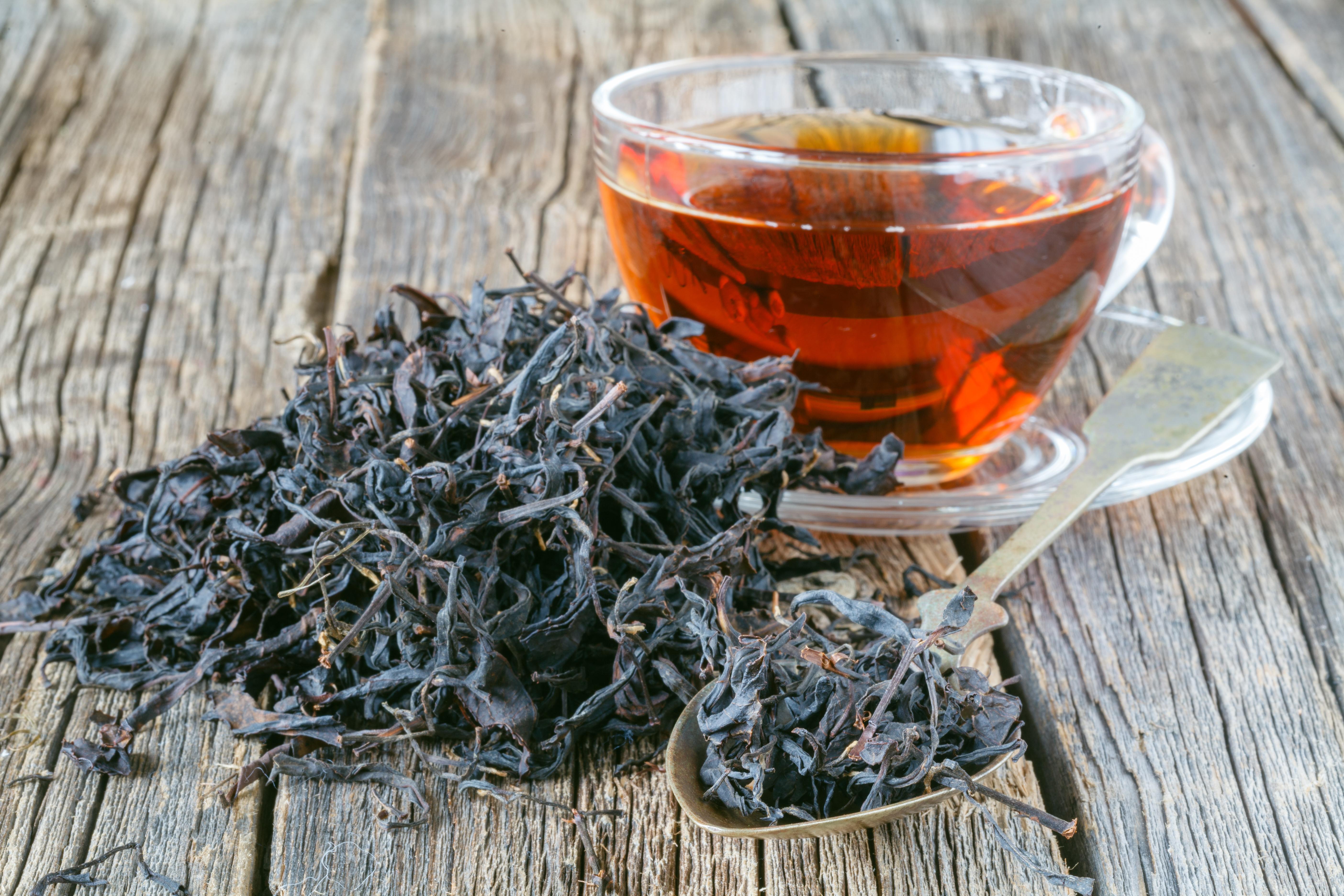 وصفة الشاي الأسود