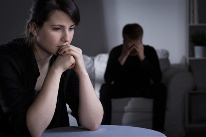 الاكتئاب يؤدي الىفشل فيالعلاقة الزوجية