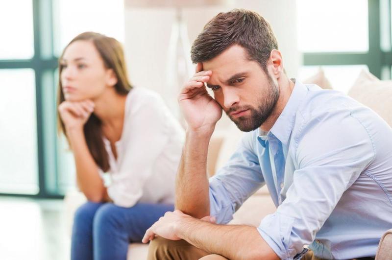 الاكتئاب يؤديفشل فيالعلاقة الزوجية