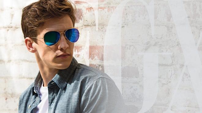 تعد النظارات الشمسية الرجالية من طراز راي بان من أفضل الماركات العالمية في مجال صناعة النظارات الشمسية في العالم