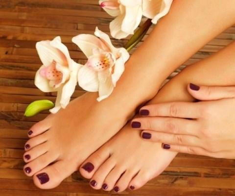 علاج سُمك أظافر القدمين