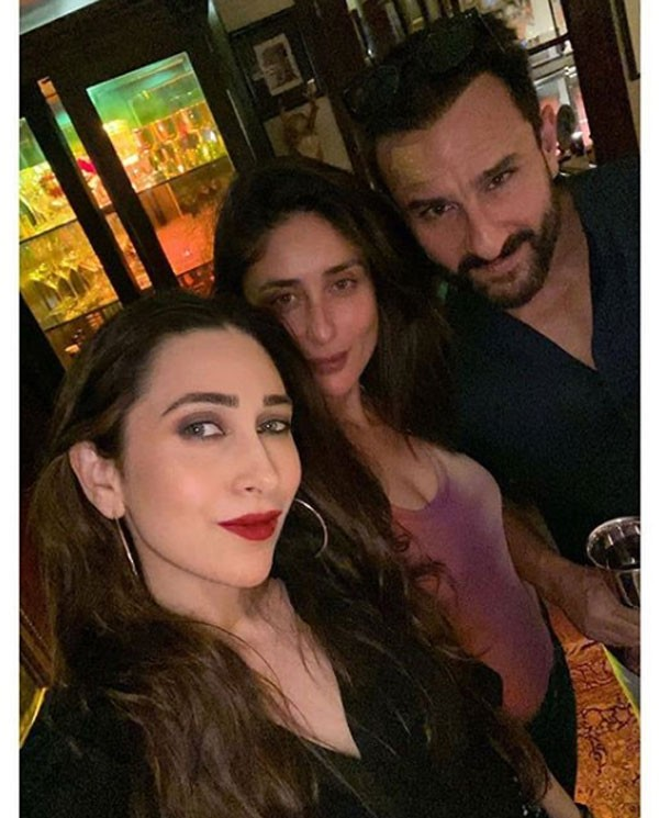 كارينا وكاريشما كابور وسيف علي خان