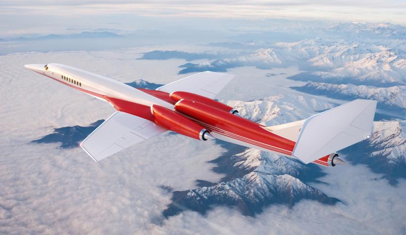 120 مليون دولار لطائرة تتجاوز سرعة الصوت