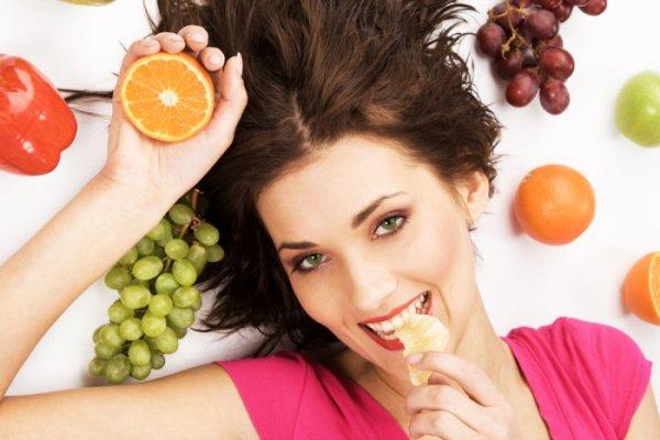 تناولي الفاكهة والخضار