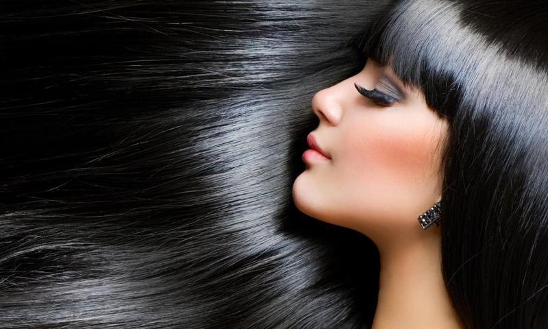 الشعر الصحي يحتاج الى نمط غذاء صحي مع الاكثار من شرب المياه