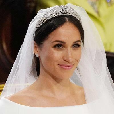 ميغان ماركل اعتمدت مكياجاً ناعماص جداً يوم زفافها