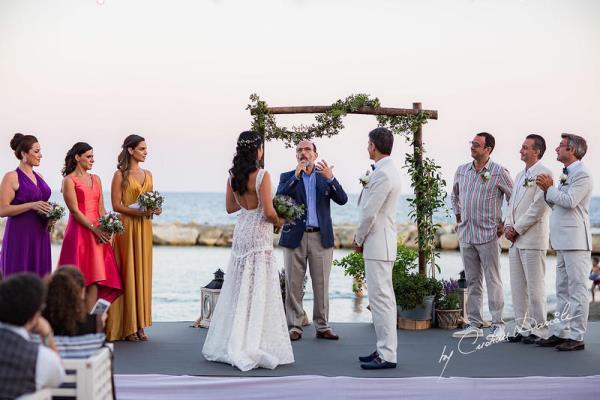 زفاف ريتا حايك في قبرص