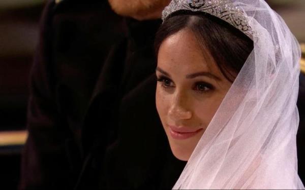 مكياج ميغان ماركل يوم زفافها