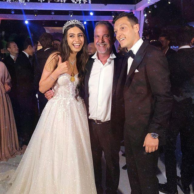 حفل زفاف مسعود اوزيل