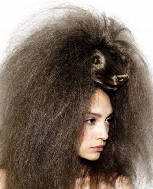 الشعر الهايش للعروس