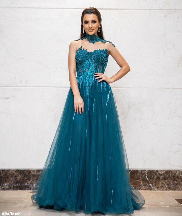فستان خطوبة منفوش من كارمن سليمان