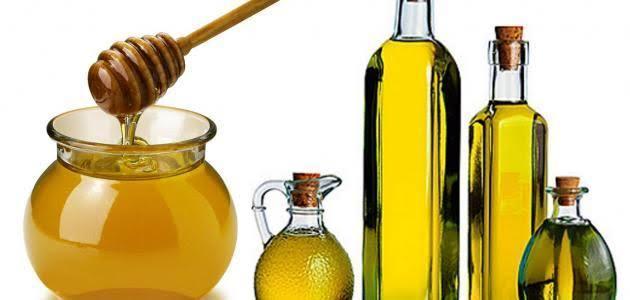 العسل وزيت الزيتون للعروس