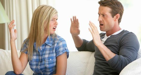 سوء تفاهم بين الزوجين