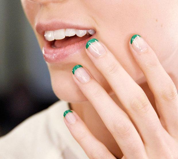 فرنش باللون الأخضر