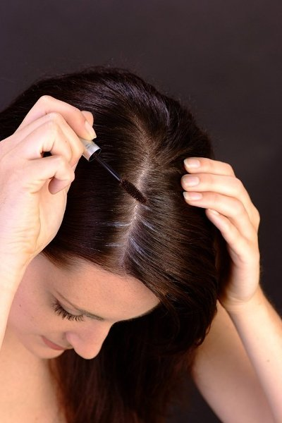 الماسكرا لاخفاء الشعر الابيض