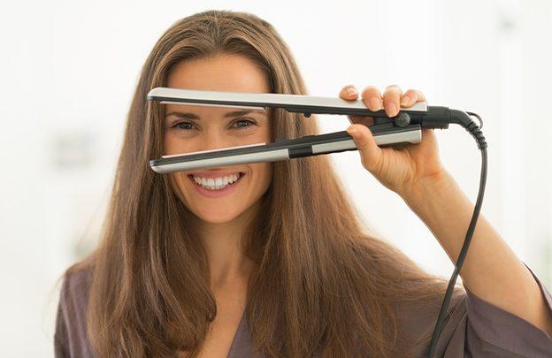 استخدام مكوى الشعر