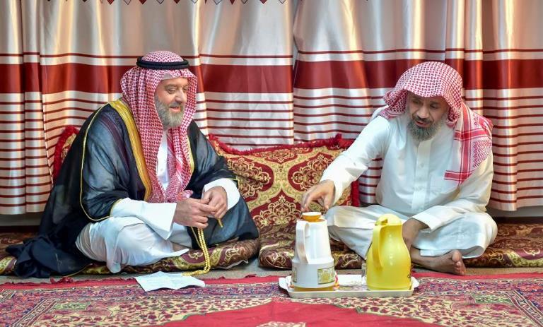 عبد العزيز السكيرين وفادي صبيح من «العاصوف»