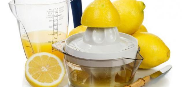 عصير الليمون للتنحيف