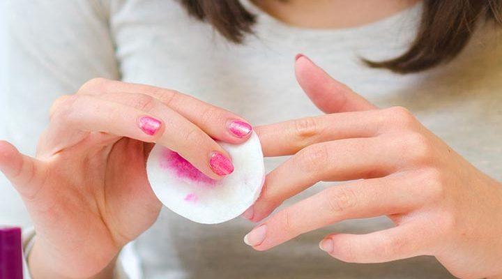 طرق إزالة طلاء الأظافر  الجل