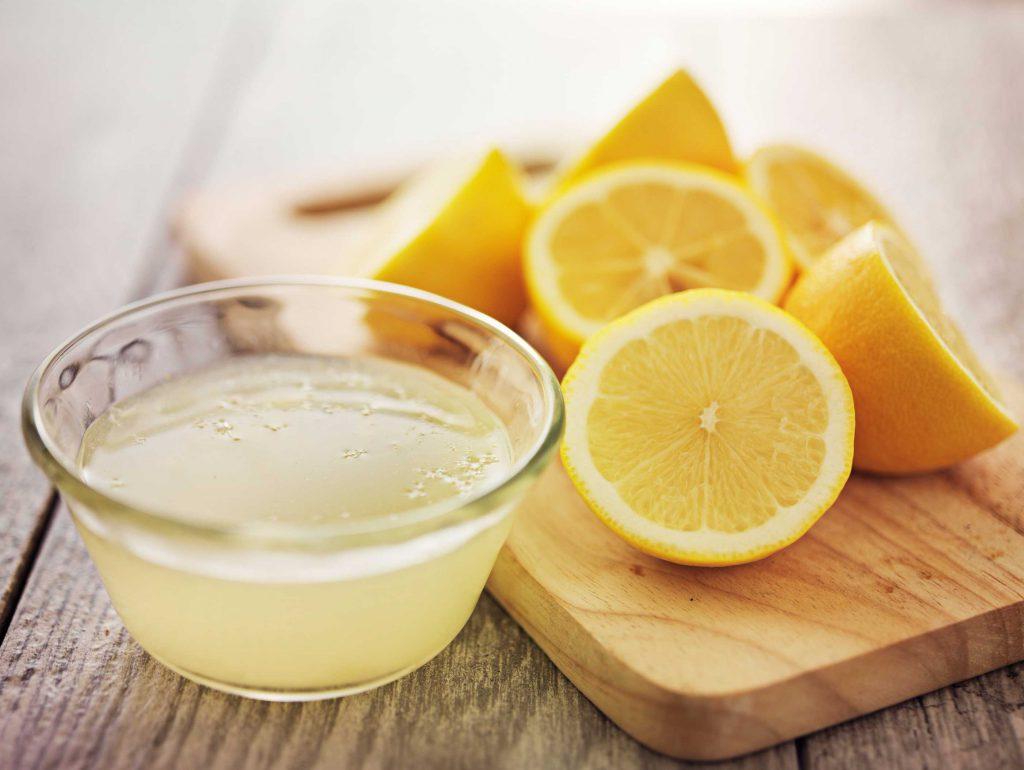 الليمون لإزالة الصدأ
