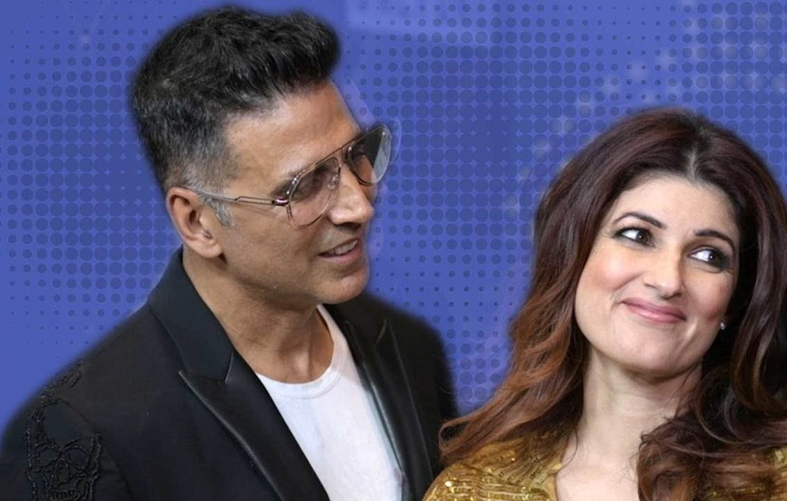 أكشاي كومار وزوجته