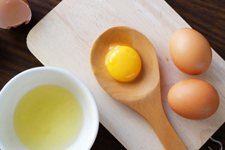 ماسك صفار البيض