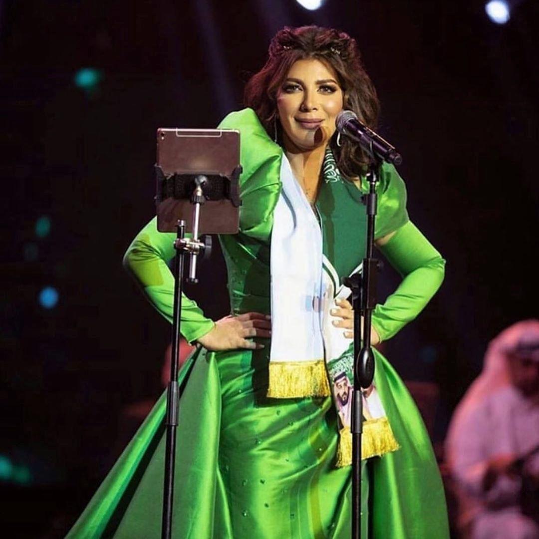 أصالة في حفلتها باليوم الوطني السعودي