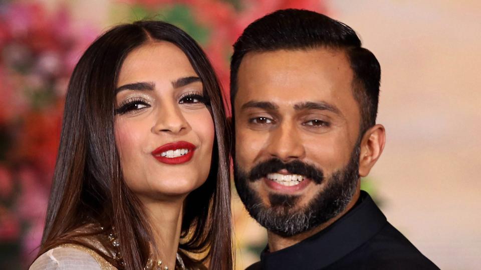 سونام كابور وزوجها أناند أهوجا