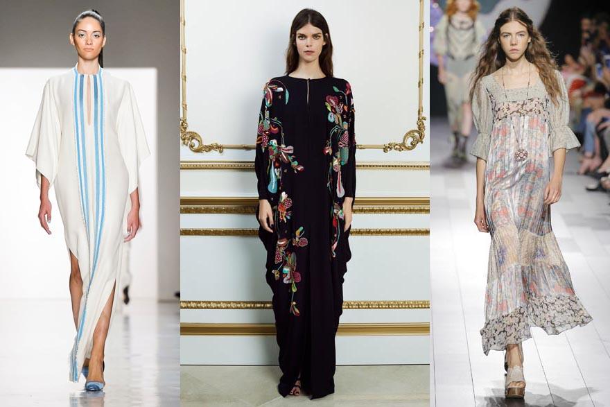 4d54e6ec0cb91 ... الموضة خلال أسبوع نيويورك للأزياء الجاهزة لموسم ربيع 2018، رصدنا لكِ  منها الخمس الأبرز لنسلط الضوء على اتجاهات جاءت في معظمها لتحاكي ذوق المرأة  العربية.