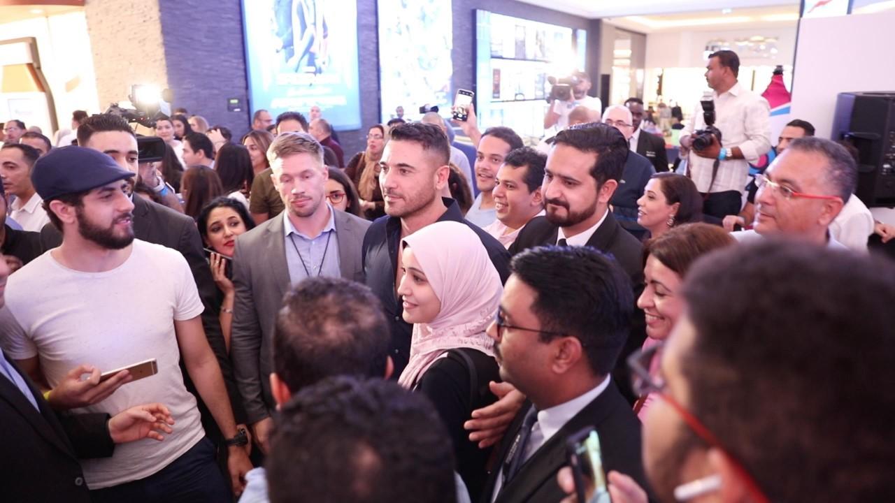 أبطال فيلم «الممر» أحمد عز وأحمد رزق ومحمد فراج