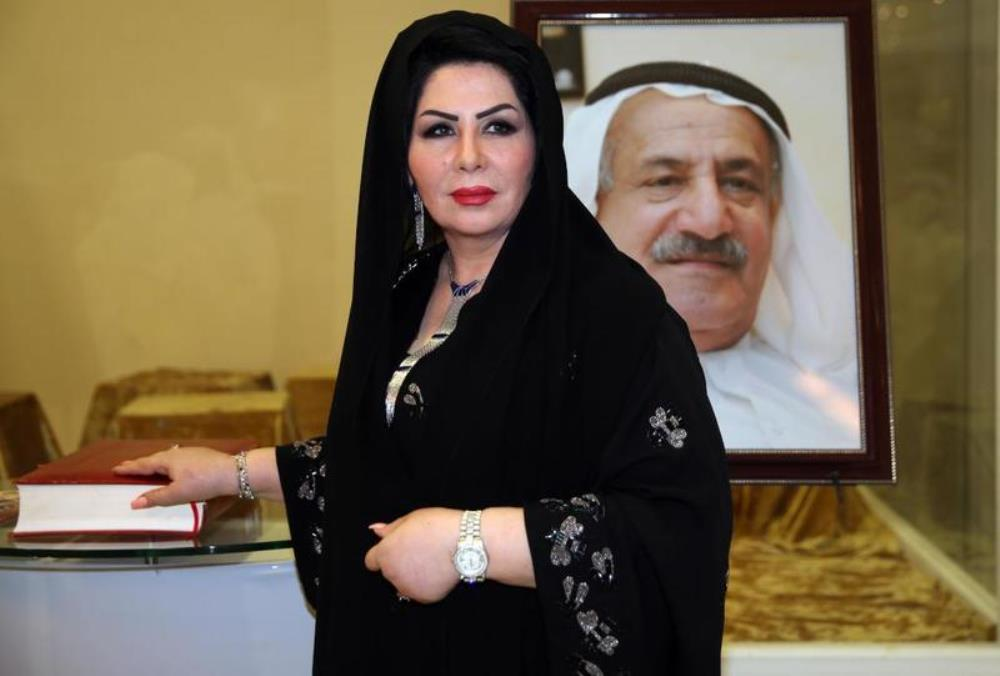 الفنانة ليلى السلمان