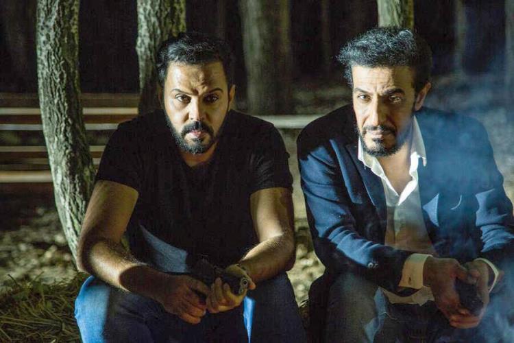عبد المحسن النمر وطلال السدر في مسلسل «اختراق»