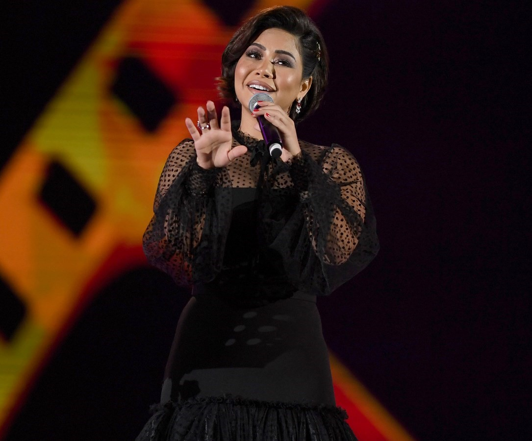 شيرين تغني الأغنية الخليجية لأول مرة