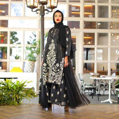 الفساتين باللمسة الفلكلورية من مرمر محمد