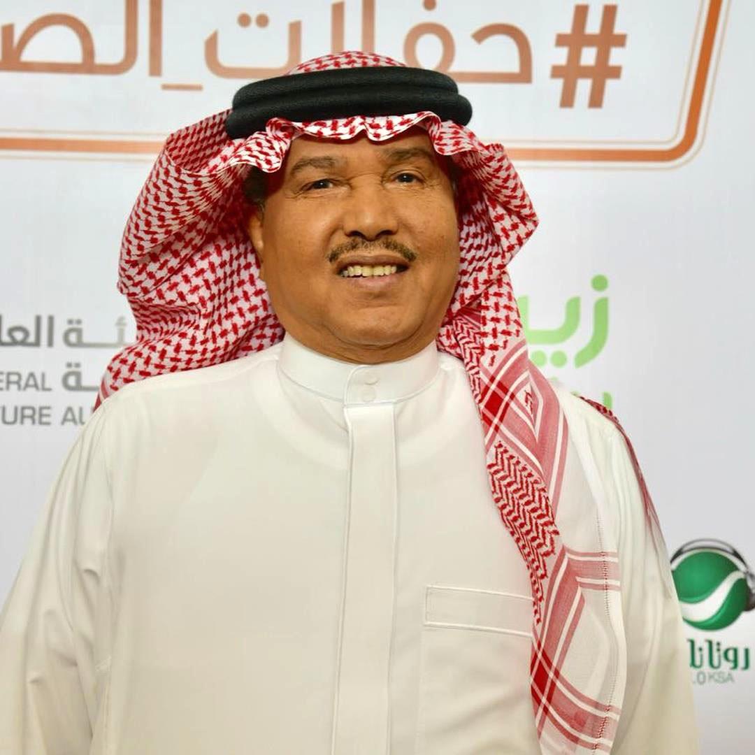 محمد عبده في إحدى حفلاته بالسعودية
