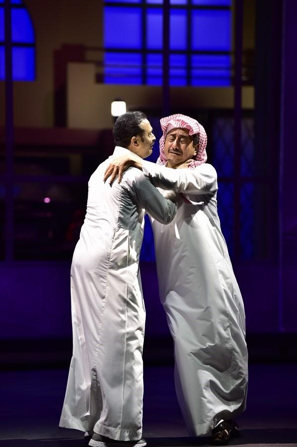 عودة ناصر القصبي للمسرح