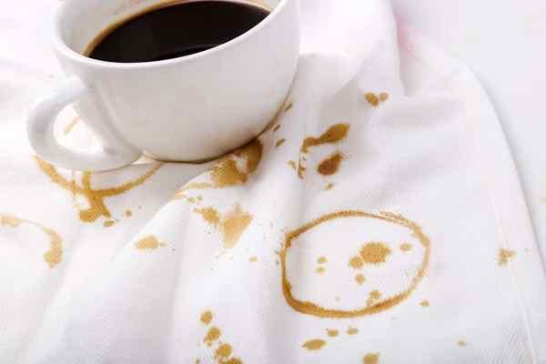 طرق إزالة بقع القهوة