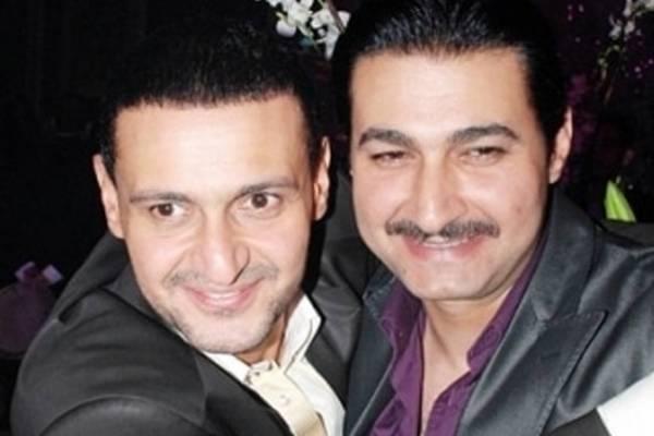 ياسر جلال وشقيقه رامز جلال