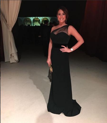 هند في الفستان الأسود