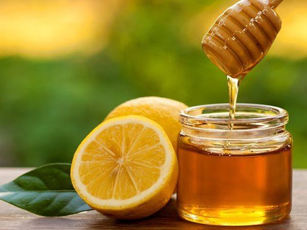 خلطة العسل والليمون