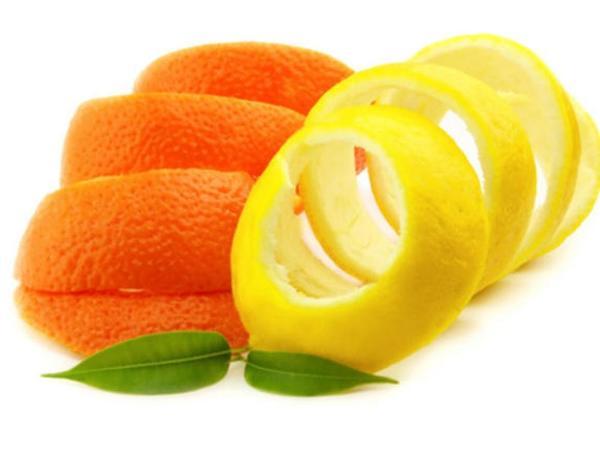 قشر الليمون