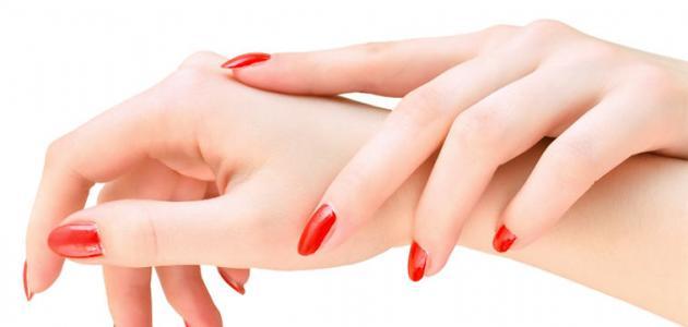 بشرة اليدين