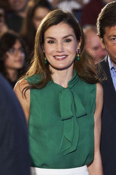 مكياج ليتيزيا ملكة إسبانيا