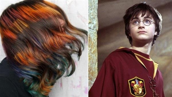 صيحة ألوان هاري بوتر