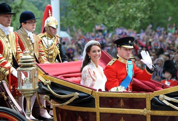 الأمير ويليام والدوقة كيت