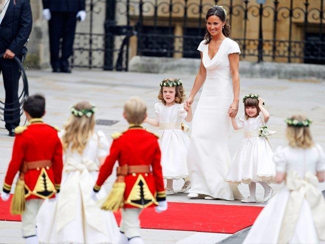 الأطفال في الزفاف